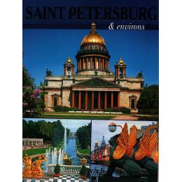Санкт-Петербург и пригороды: буклет (на англ.яз.)